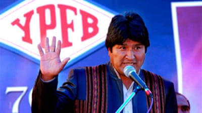 Bolivia nationalises pipeline firm