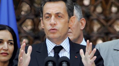 Sarkozy backs Lebanon unity effort