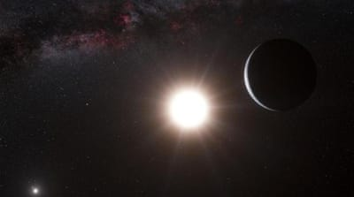 A new planet has been discovered orbiting the star Alpha Centauri B [The European Southern Observatory, via AP]