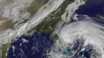 Al Jazeera's Tom Ackerman reports how the East Coast of the United States is bracing itself for 'Frankenstorm'