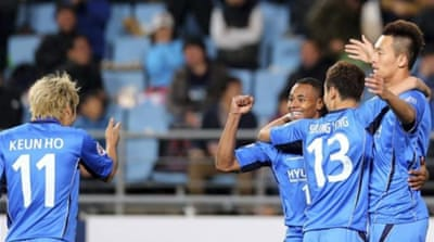 South Korean side Ulsan Hyundai coasted into the final, which they host on November 10th [AFP]