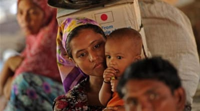Myanmar 'rejects talks' on ethnic violence