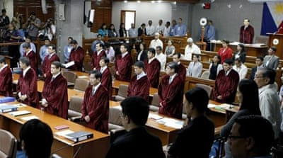 The Philippine Supreme Court suspended the law for 120 days and scheduled oral arguments for January 15 [EPA]