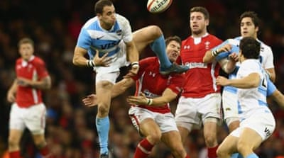 Juan Imhoff touches down for Argentina as Wales struggle in autumn international [AFP]