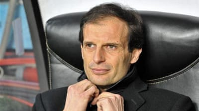 Reports say Pato (L) was subjected to abuse from fans after missing penalty against Fiorentina [AP]
