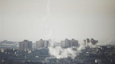 Israelis react to rocket attacks from Gaza
