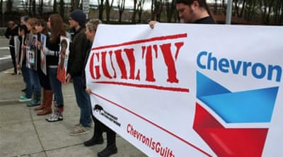 Holding Chevron accountable