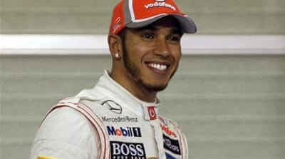 With three races remaining, Hamilton looks to finish era with McLaren on a high [Reuters]