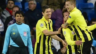 Dortmund top the Group of Death with eight points ahead of Real Madrid on seven [GETTY]