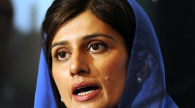 Hina Rabbani Khar: 'Give Pakistan some time'