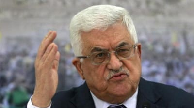 President Mahmoud Abbas led the historic push for Palestinian statehood at the UN, but it was ultimately symbolic [AP]
