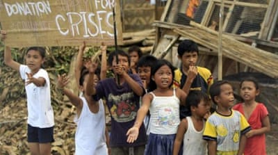 Typhoon-hit Philippines appeals for help
