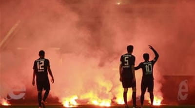 German football officials are reacting to a sharp rise in fan violence [Reuters]