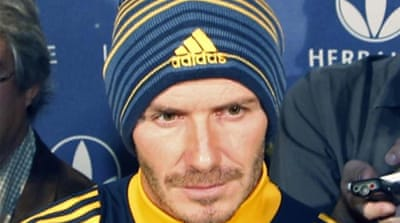 Beckham brought success to LA Galaxy and boosted U.S. soccer but would his arrival benefit A-League? [AP]