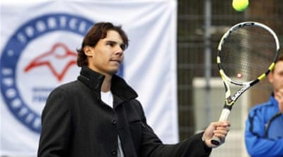 Nadal pulled out of the Olympics and U.S. Open after suffering tendinitis in his left knee [Reuters]