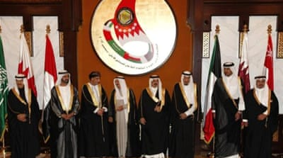 Dignitaries from the six Gulf states gathered for a summit in Manama, Bahrain [Reuters]
