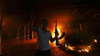 Attack on the US consulate had killed ambassador to Libya, Christopher Stevens, and three other Americans [File-AP]