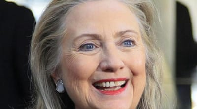 Clinton has flown almost a million miles since taking office four years ago and visited 112 countries [Reuters]