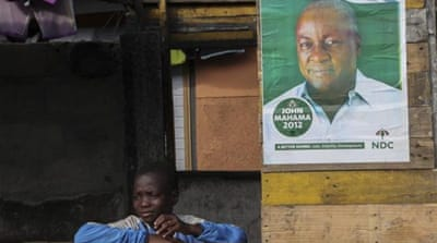 Ghanaians vote for new president