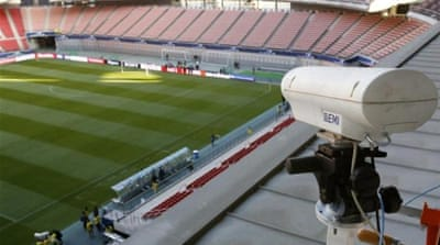 Hawk-Eye chiefs are ready to show off their new technology at the Club World Cup [Reuters]