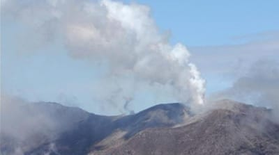 The Turrialba volcano located about 65km outside San Jose began a series of eruptions in 2007 [AFP]