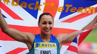 The poster girl of the British team, Jessica Ennis is one of the favourites for heptathlon gold [Reuters]