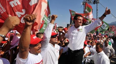 Pena Nieto 'wins Mexico presidential vote'