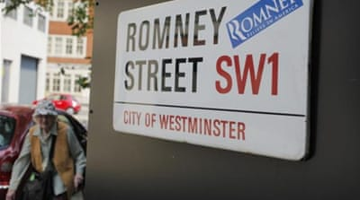 Romney will spend part of his time in London raising money and highlighting the US Olympics he managed [Reuters]