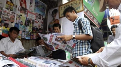 Myanmar abolishes direct press censorship law