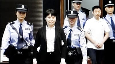 Suspended death sentence for Bo Xilai's wife