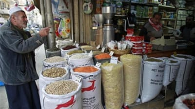 Jordanians grapple with rising food prices