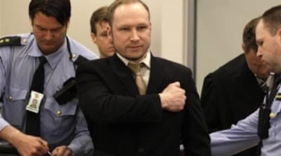 "Breivik considered his victims ""cultural Marxists"" who were attacking his ethnic group and religion [Reuters]"