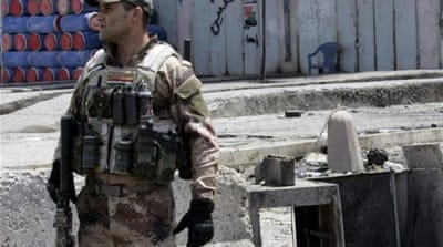 Iraqi soldiers and police officers have been the target of numerous attacks in recent weeks [EPA]