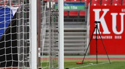 Is the human element of football under threat from goal-line technology? [AFP]