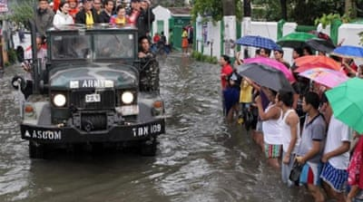Manila appeals for flood aid for millions