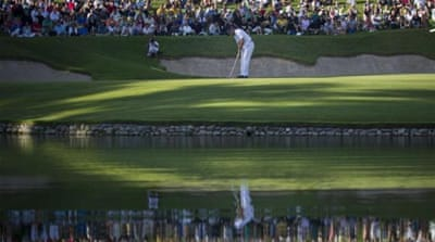 Spaniard Sergio Garcia won the doomed Andalucia Masters in 2011 [AP]
