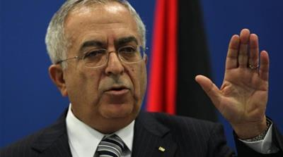 The economic policies of PM Salam Fayyad have done nothing to alleviate economic hardships in Palestine [EPA]