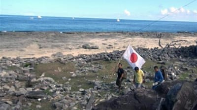 Tokyo and Beijing have long feuded over the islands, known as Senkaku in Japan and Diaoyu in China [Reuters]