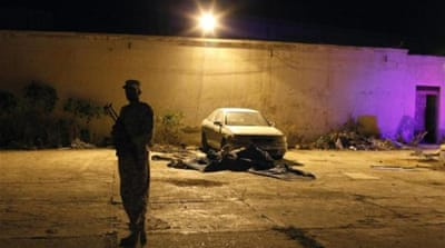 Libyans evict armed group from Benghazi base