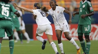 American women's soccer is looking for its second triumph after a gold medal at London 2012 [Reuters]