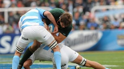 Up next for Argentina, the mighty All Blacks, but Pumas are boosted by return of Juan Martin Hernandez [AFP]