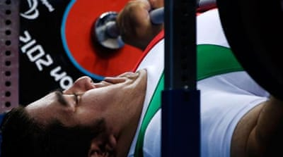 Iran's Ali Hosseini claimed gold in the powerlifting but Rio are looking to raise the bar on London Games [GETTY]