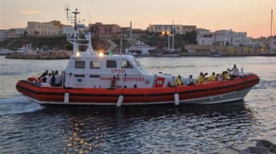 One body was recovered and 56 people were rescued from the shipwreck [EPA]