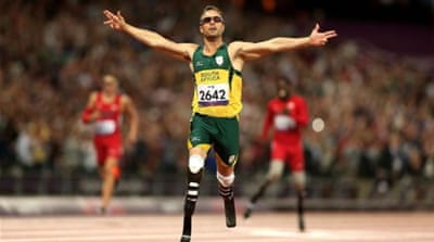 South African Oscar Pistorius ends his Olympic and Paralympic experience on a golden note [GETTY]