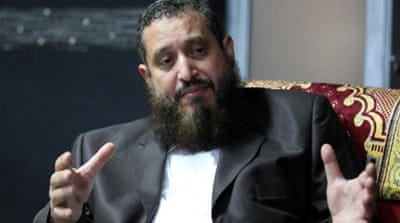 Emad Abdel Ghafour recently resigned as chairman of Egypt's ultraconservative Nour Party [EPA]