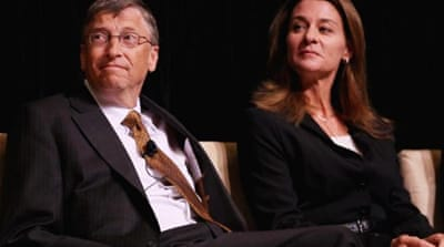 Bill and Melinda Gates were awarded the Fulbright Prize for International Understanding in 2010 for their work and charitable contributions in improving the health and education opportunities of people around the globe [Getty]