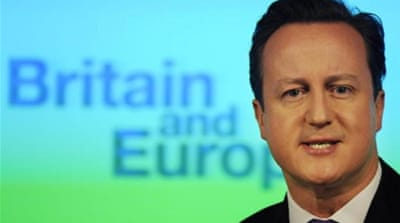 UK's Cameron promises vote on EU membership