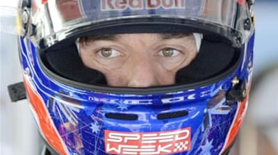 Webber is revving up for the 2013 season - which could be his last with Red Bull [AP]