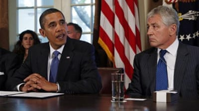 Obama 'to nominate Hagel as Pentagon chief'