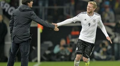No surprises as Germany reach Brazil after putting three past Ireland. England and Russia also took a step closer [AP]